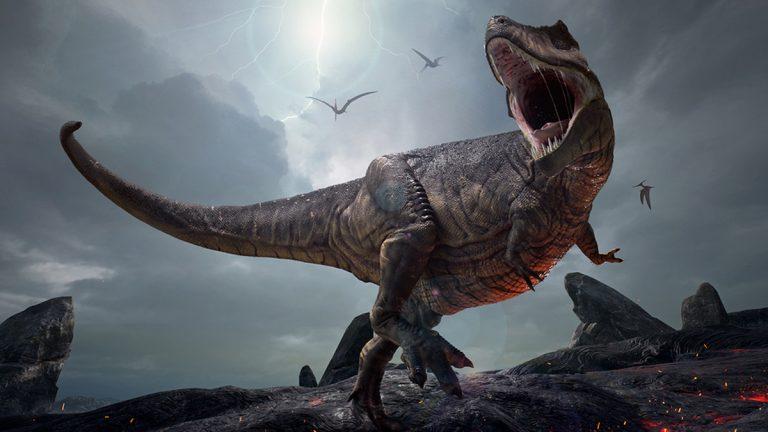 3D rendering of Tyrannosaurus Rex (Herschel Hoffmeyer/Bigstock)