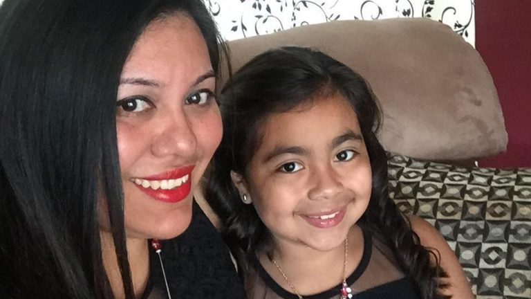 Gabriela Pedroza and her daughter (Photo provided)