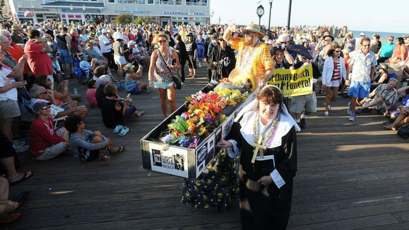 The 32nd Annual Bethany Beach Jazz Funeral