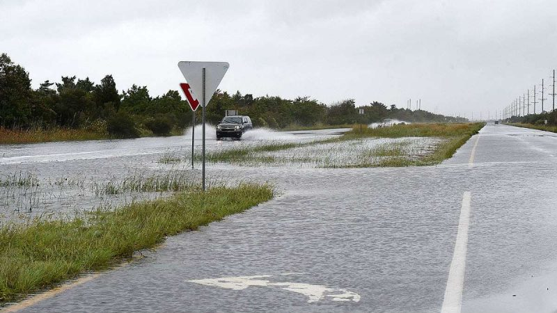 High water sits on Rt. 1 near Conquest Rd. south of Dewey Beach