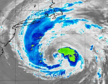 NASA's Aqua satellite captured infrared data on Tropical Storm Jose on Sept. 20 at 2:55 a.m.  (Photo courtesy of NASA)