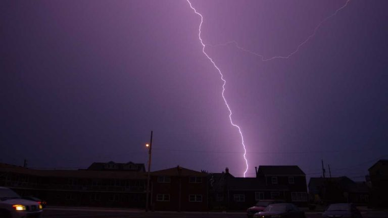 A thunderstorm in Seaside Park. (Image: Ben Currie)