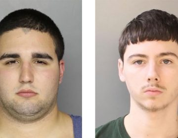 These undated photos provided by the Bucks County district attorney's office in Doylestown, Pa., show Cosmo DiNardo of Bensalem, Pa., an admitted drug dealer with a history of mental illness (left), and Sean Kratz of Philadelphia. The two are charged in the deaths of four young men in July. (Bucks County District Attorney's Office via AP)
