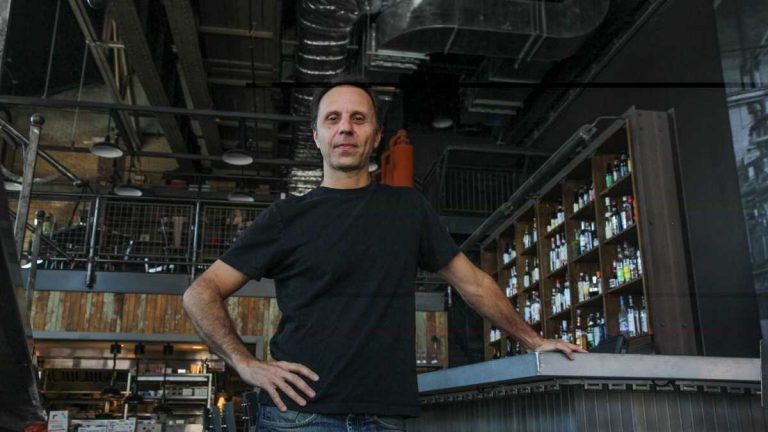 Nick Stuccio is the president and producing director of FringeArts in Philadelphia. (Kimberly Paynter/WHYY, file)
