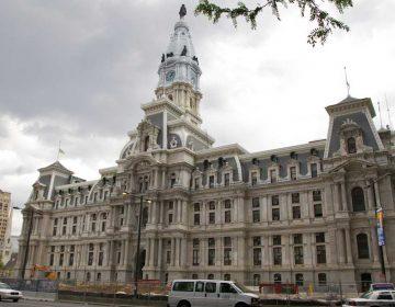 Philadelphia City Hall. (WHYY file photo)
