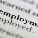 Close up of a dictionary word Unemployment (photo/bigstock)</a>