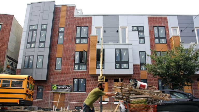 New condos at 1834 Frankford Ave. (Emma Lee/WHYY)