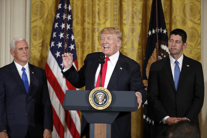 Trump, Pence, and Ryan