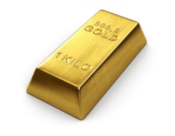 It would take 22 gold bars (1 kg each) to buy a N.J. liquor license that sold for $1,000,000. (Photo Big Stock)