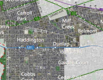 West district map (Philadelphia City Planning Commission)