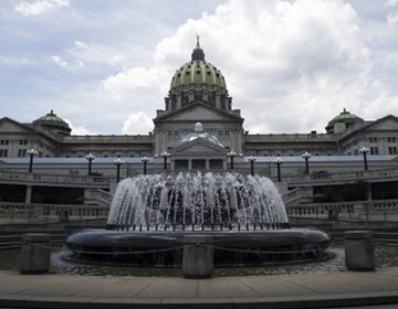 The Pennsylvania state capitol building in Harrisburg  (AP Photo)