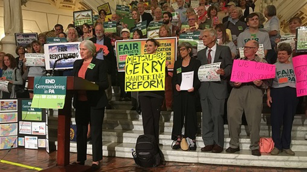 Pa. citizens 'slay the gerrymander' in congressional mapping competition