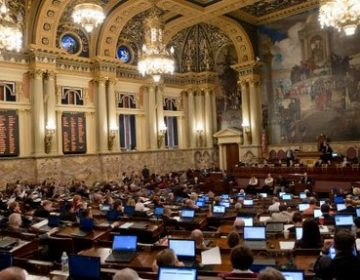 Inside the Pennsylvania state capitol building (AP Photo)