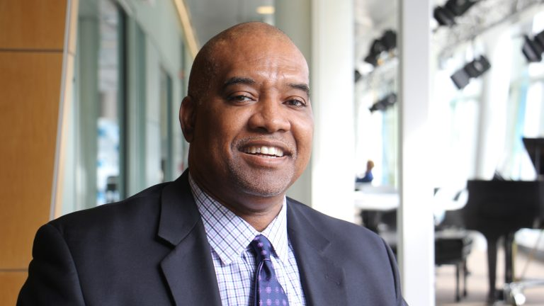 David Jones is head of Philadelphia's Department of Behavioral Health. (Emma Lee/WHYY)