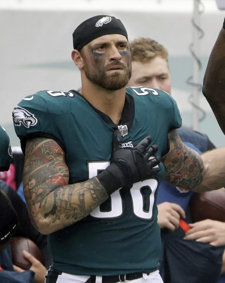 Philadelphia Eagles' Chris Long (56)