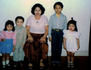 Bunkong Tuon and family