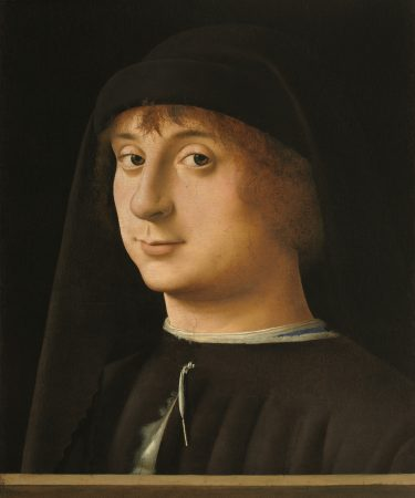 Portrait of a Young Gentleman, 1474. Antonello da Messina (Philadelphia Museum of Art, John G. Johnson Collection)