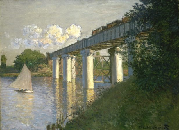Johnson's wide-ranging collection included Claude Monet's