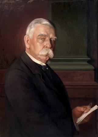 Portrait of John G. Johnson, 1917. Conrad F. Haeseler. (Philadelphia Museum of Art)