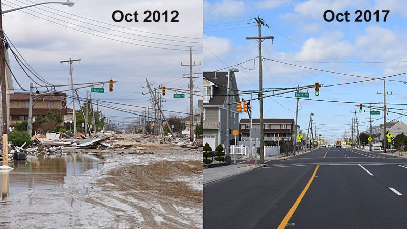 Route 35 at 3rd Avenue, Ortley Beach, N.J. (Photo by Chris Raia, Toms River Township)