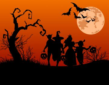Halloween Silhouettes (Picture Courtesy BigStock)