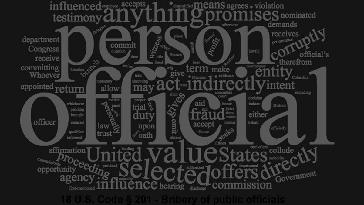 Bribery Definition In Play As Bob Menendez Closings Approach