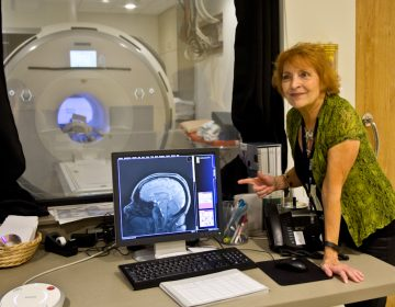 Dr. Anna Rose Childress is a leading neuroscientist at the University of Pennsylvania's center for addiction studies. She has spent decades scanning and observing the brains of people who have experienced addiction. (Kimberly Paynter/WHYY)