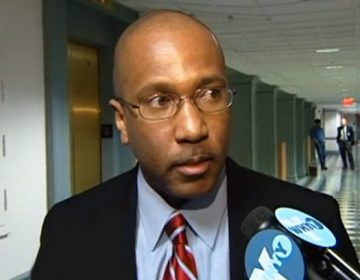 Harry Lee Williams, president of Delaware State University since 2009, will head the Thurgood Marshall College Fund. (File/WHYY)