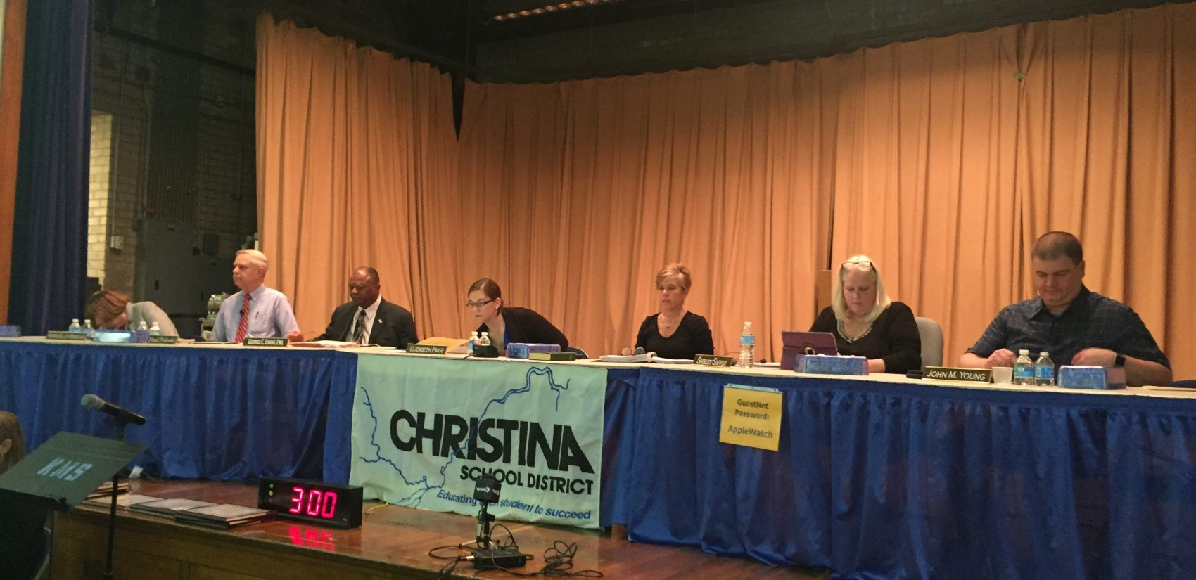 The Christina school board will have to decide what to do about several schools that are far below capacity once the district's analysis is completed. (Cris Barrish/WHYY)