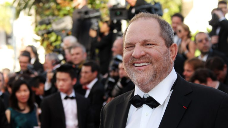 Hollywood producer Harvey Weinstein is shown at the 65th international film festival, in Cannes, France.