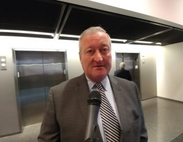 Philadelphia Mayor Jim Kenney at  National Museum of American Jewish History