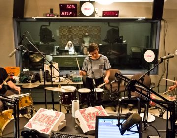 Man Forever performs at WHYY Studios