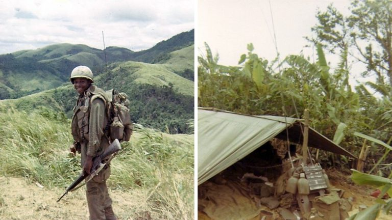 i didn t understand the vietnam war until i met my father in law  reginald waller is shown as a ier in the vietnam war right waller s