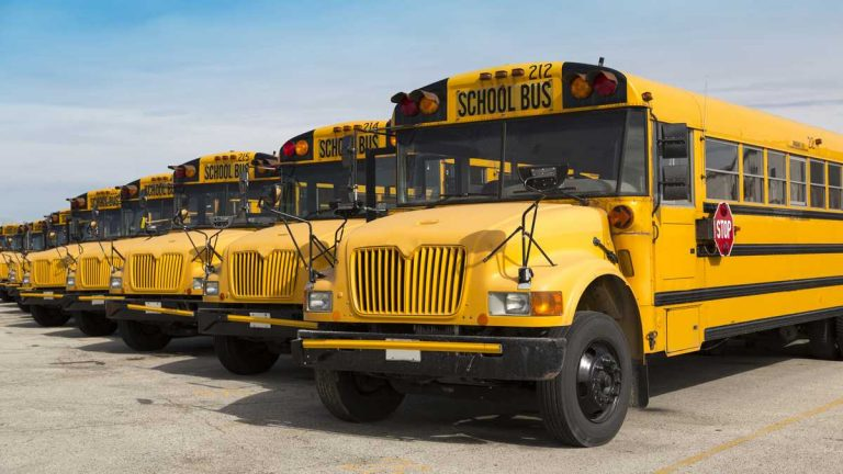 A fight between two students at Warner Elementary School on a school bus Thursday spurred the driver to pull over on Interstate 95 in Wilmington and call police. (File/WHYY)