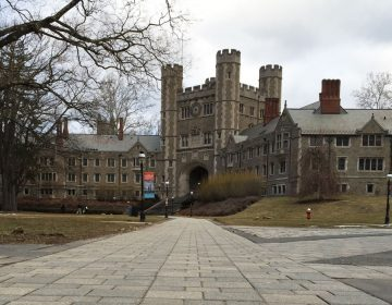 Blair Hall on Princeton University's campus in New Jersey. (Alan Tu/WHYY)