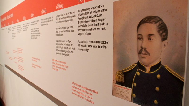 A timeline maps out the short but eventful life of Octavius Catto