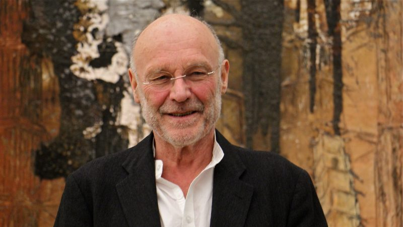 Anselm Kiefer visited The Barnes for the opening of