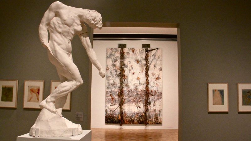 On the 100th anniversary of Auguste Rodin's Death, contemporary artist Anselm Kiefer responds to the sculptor's work with an exhibit at The Barnes. (Emma Lee/WHYY)
