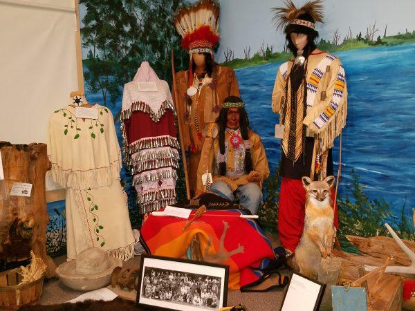 Inside the Nanticoke Museum in Millsboro, DE