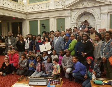 Philadelphia City Council honors civil rights activists at City Hall. (photo courtesy of council member Helen Gym's office)