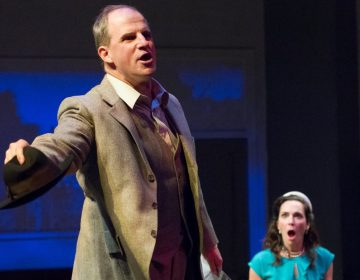 Anthony Lawton and Mary Lee Bednarek in Lantern Theater Company's production of