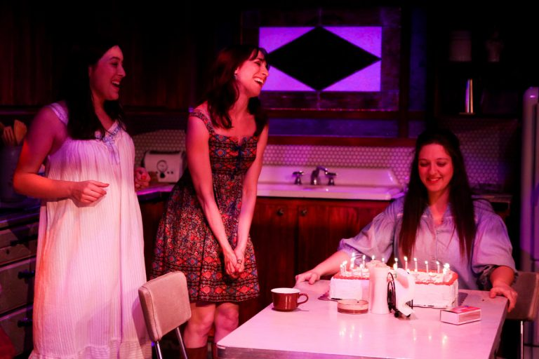 Playing the three sisters in Curio Theatre Company's production of