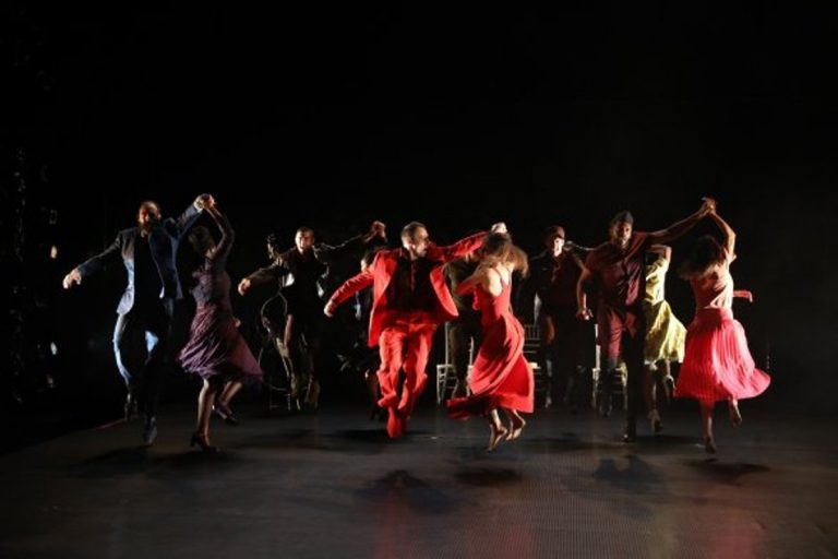 The company of Wilma Theater's production of