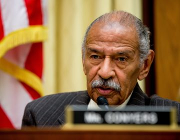 Rep. John Conyers, D-Mich., ranking member on the House Judiciary Committee, speaks on Capitol Hill in Washington, Tuesday, May 24, 2016.