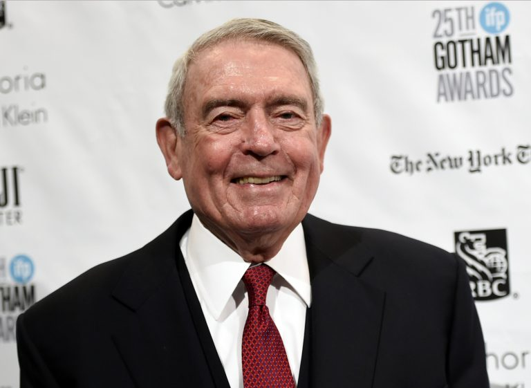 "FILE - In this Nov. 30, 2015 file photo, Journalist Dan Rather attends The Independent Filmmaker Project's 25th Annual Gotham Independent Film Awards in New York. Rather, the former CBS anchor who has become a prominent voice against President Trump, is working on a book about patriotism. Rather's ""What Unites Us"" will be published Nov. 7, 2017, by Algonquin Books. (Photo by Evan Agostini/Invision/AP, File)"