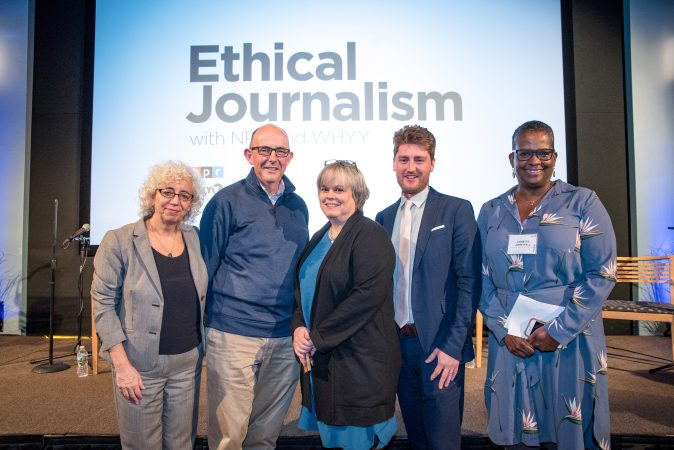 Ethical Journalism event at WHYY on November 14, 2017