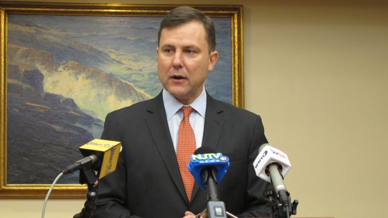 New Jersey Sen. Tom Kean says the state's employers will not be able to sustain a $15 minimum wage. (Phil Gregory/WHYY)