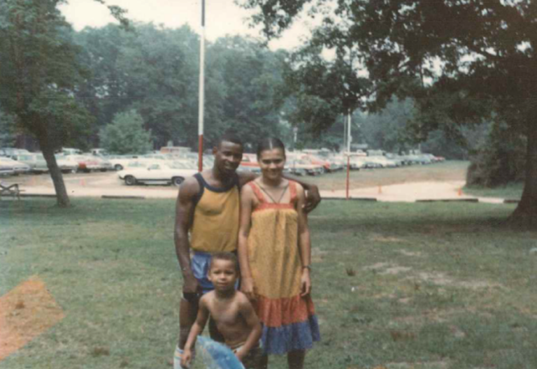 Leroy Evans with his girlfriend Rosemary Simmons, and their son Leroy, Jr., before his conviction. (Provided)