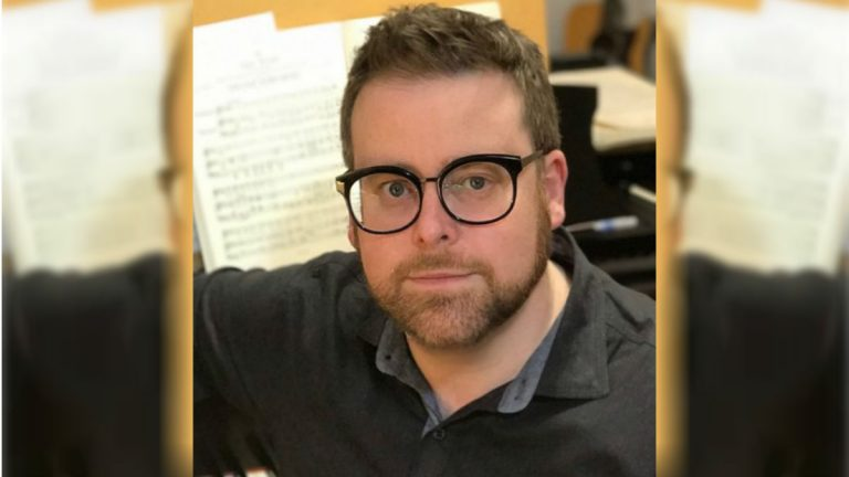 Composer David Ludwig will become the latest recipient of the Delaware Symphony Orchestra's A.I. du Pont Composer's Award. (photo courtesy Delaware Symphony Orchestra)