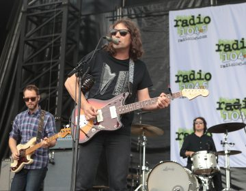 The War on Drugs perform in concert during the Radio 104.5 Summer Block Party